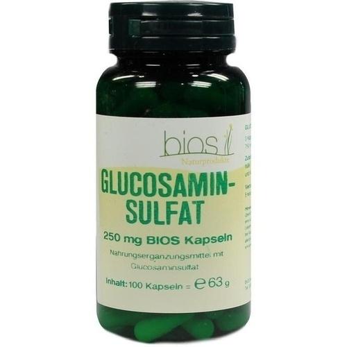 Glucosaminsulfat 250mg Bios Kapseln, 100 ST, Bios Medical Services