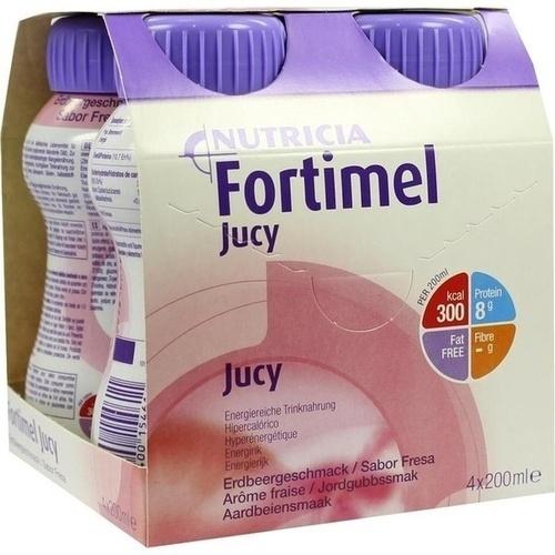 Fortimel Jucy Erdbeergeschmack, 4X200 ML, Nutricia Milupa GmbH