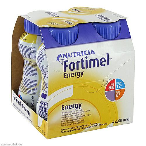 Fortimel Energy Bananengeschmack, 4X200 ML, Nutricia GmbH