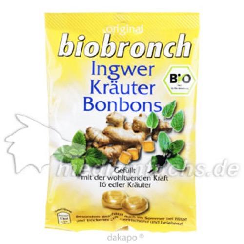 Biobronch Ingwer Kraeuter, 75 G, Mepha GmbH