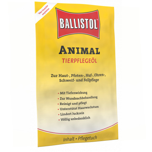 Ballistol animal Pflegetücher Vet, 10 ST, Hager Pharma GmbH