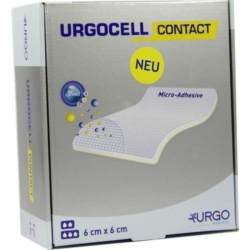 Urgocell Contact 6x6cm, 10 ST, Urgo GmbH