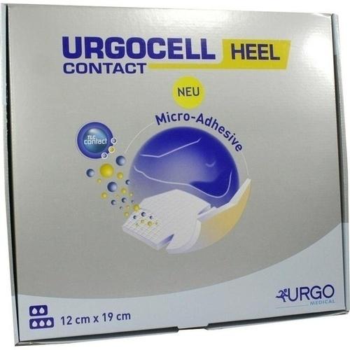 Urgocell Heel Contact 12x19cm Fersenverband, 5 ST, Urgo GmbH