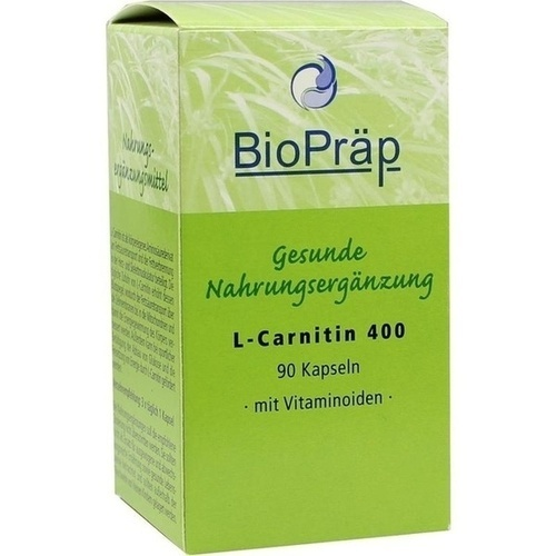 L-Carnitin 400 Kapseln, 90 ST, BioPräp Biolog.Präp.Handelsges.mbH