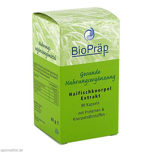 Haifischknorpel-Extrakt Kapseln, 90 ST, BioPräp Biolog.Präp.Handelsges.mbH