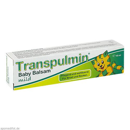 TRANSPULMIN Baby BALSAM mild, 40 ML, MEDA Pharma GmbH & Co.KG