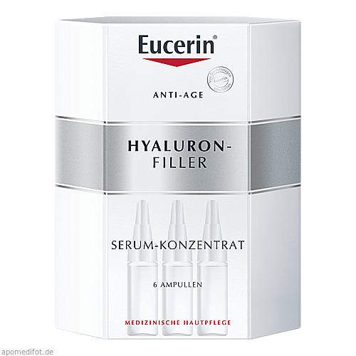 Eucerin Anti-Age Hyaluron-Filler Serum-Konzentrat, 6X5 ML, Beiersdorf AG Eucerin