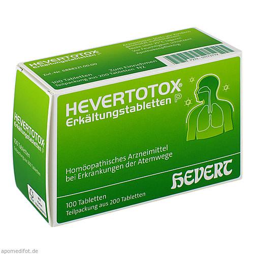 HEVERTOTOX Erkältungstabletten P, 200 ST, Hevert Arzneimittel GmbH & Co. KG
