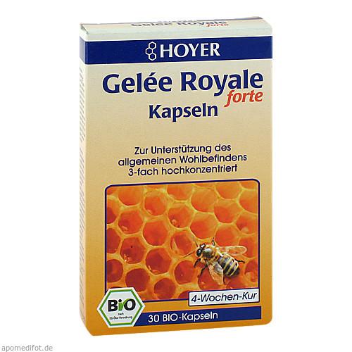 HOYER Gelee Royale forte Kapseln, 30 ST, HOYER GmbH