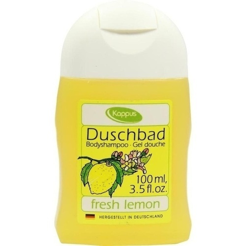 Kappus Duschbad Fresh Lemon, 100 ML, M. Kappus GmbH & Co. KG