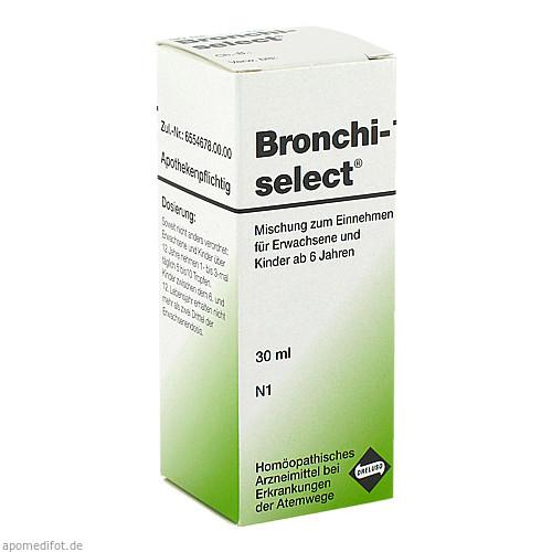 BRONCHISELECT Tropfen, 30 ML, Dreluso-Pharmazeutika Dr.Elten & Sohn Gm