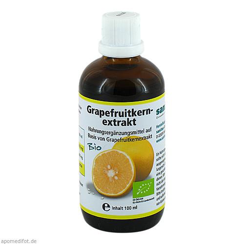 Grapefruitkernextrakt-Bio, 100 ML, Sanitas GmbH & Co. KG