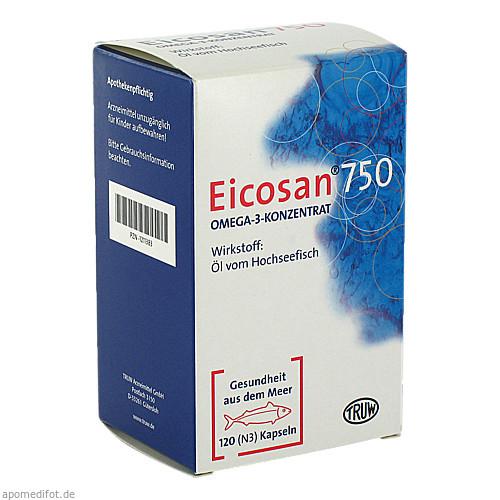 Eicosan 750 Omega-3-Konzentrat, 120 ST, Med Pharma Service GmbH