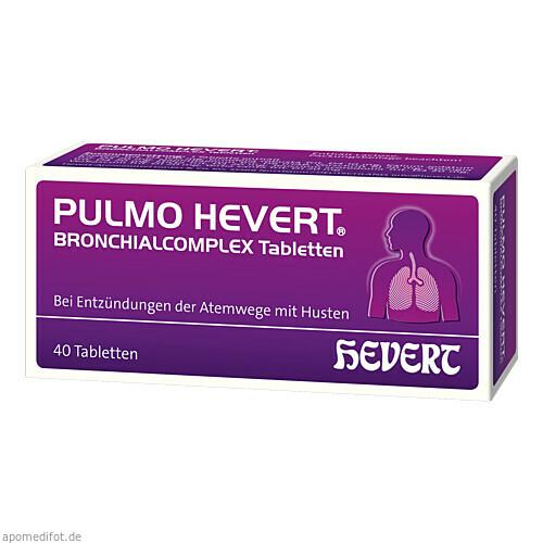 Pulmo Hevert Bronchialcomplex Tabletten, 40 ST, Hevert Arzneimittel GmbH & Co. KG