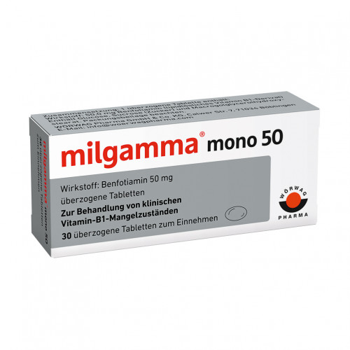 milgamma mono 50, 30 ST, Wörwag Pharma GmbH & Co. KG