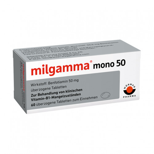 milgamma mono 50, 60 ST, Wörwag Pharma GmbH & Co. KG