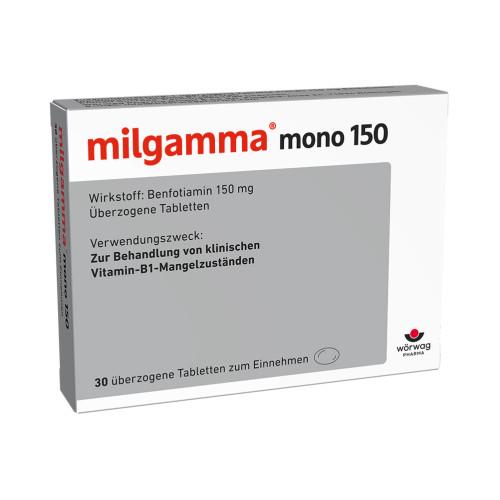 milgamma mono 150, 30 ST, Wörwag Pharma GmbH & Co. KG