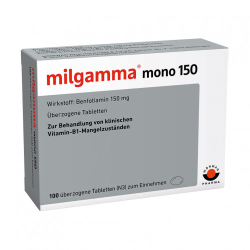 milgamma mono 150, 100 ST, Wörwag Pharma GmbH & Co. KG
