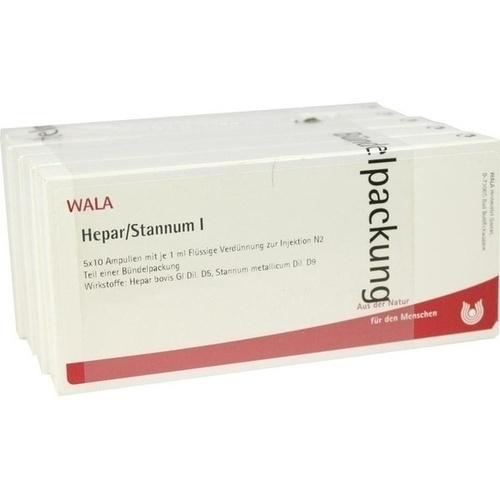 HEPAR/STANNUM I, 50X1 ML, Wala Heilmittel GmbH