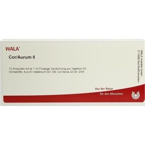 Cor/Aurum II, 10X1 ML, Wala Heilmittel GmbH