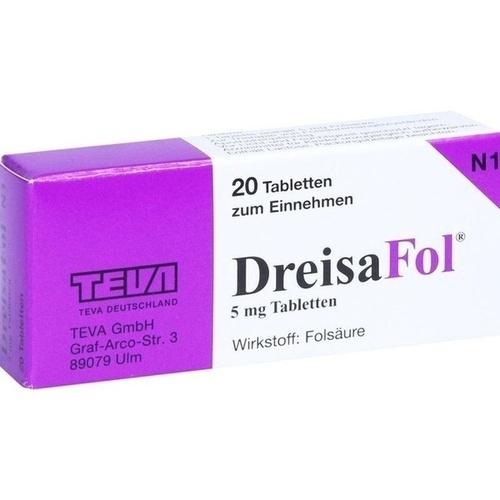 DreisaFol, 20 ST, TEVA GmbH