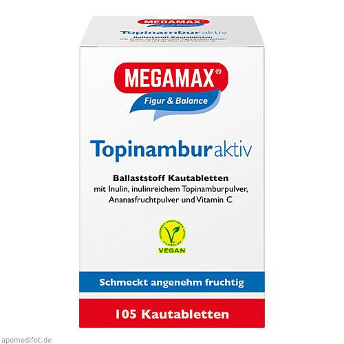 Topinambur aktiv MEGAMAX, 105 ST, Megamax B.V.