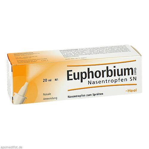 Euphorbium comp. Nasentropfen SN, 20 ML, Biologische Heilmittel Heel GmbH