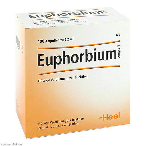 Euphorbium comp. SN, 100 ST, Biologische Heilmittel Heel GmbH