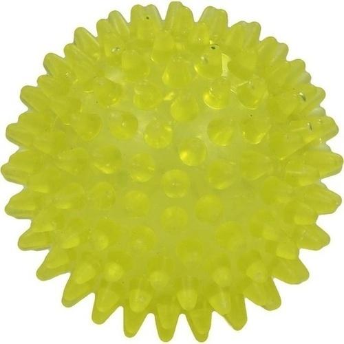 Igelball 8cm gelb-transparent, 1 ST, RUSSKA LUDWIG BERTRAM GMBH