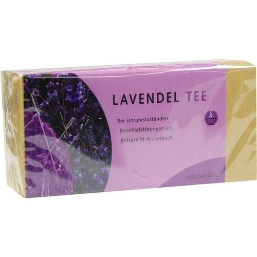 Lavendelblütentee, 25 ST, Alexander Weltecke GmbH & Co. KG