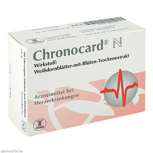 Chronocard N, 100 ST, Cesra Arzneimittel GmbH & Co. KG