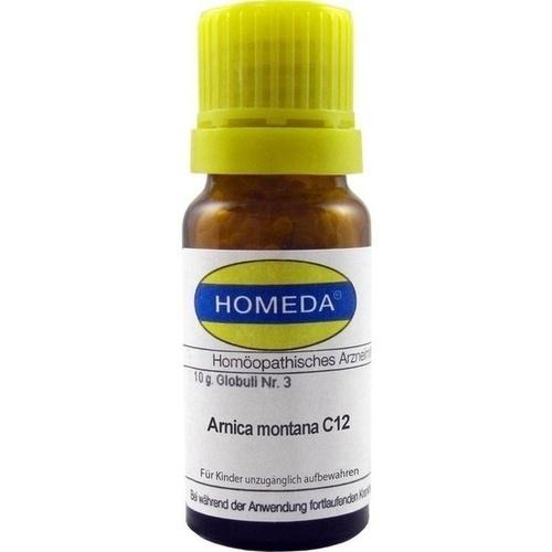HOMEDA Arnica montana C 12 Globuli, 10 G, Homeda Pharma GmbH