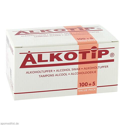 Alkoholtupfer ALKOTIP, 100 ST, Diaprax GmbH