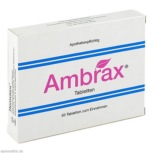 Ambrax, 50 ST, Homviora Arzneimittel Dr.Hagedorn GmbH & Co. KG