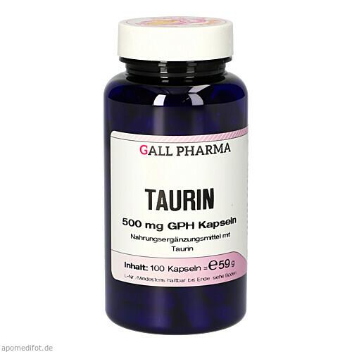 L-TAURIN 500mg, 100 ST, Hecht-Pharma GmbH