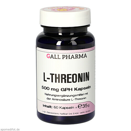 L-THREONIN 500mg, 60 ST, Hecht-Pharma GmbH