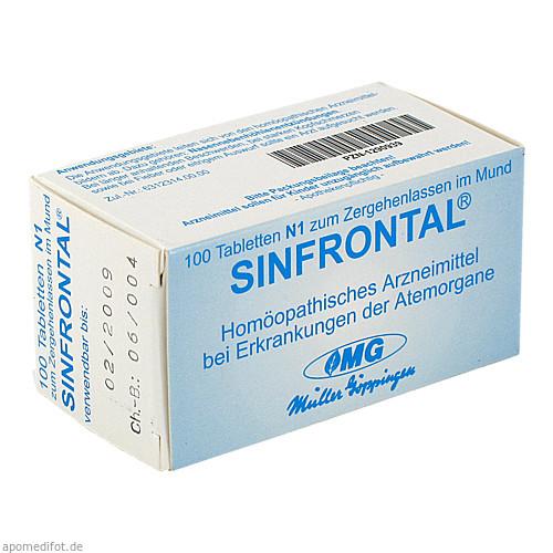 SINFRONTAL, 100 ST, Dr. Gustav Klein GmbH & Co. KG