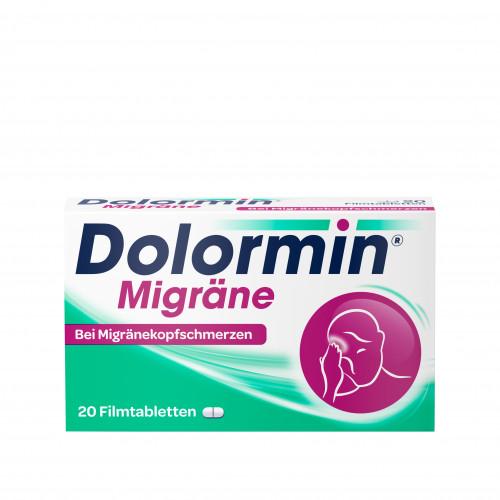 Dolormin Migräne, 20 ST, Johnson & Johnson GmbH (Otc)