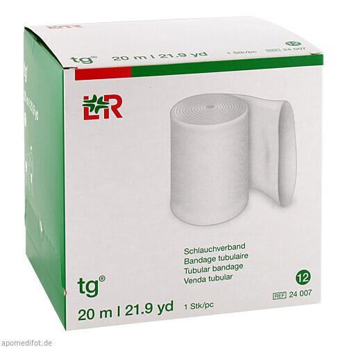 tg Schlauchverband weiß Größe 12 20M, 1 ST, Lohmann & Rauscher GmbH & Co. KG