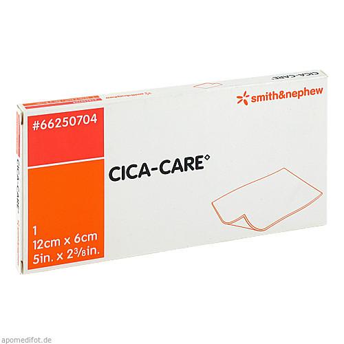 CICA-CARE 12cmx6cm dün.Silikogelplatte z.Narbenbe, 1 ST, Smith & Nephew GmbH