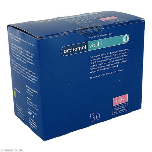 Orthomol Vital F Granulat/Kapseln 15Beutel, 1 ST, Orthomol Pharmazeutische Vertriebs GmbH