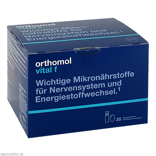Orthomol Vital F Trinkfläschchen, 30 ST, Orthomol Pharmazeutische Vertriebs GmbH