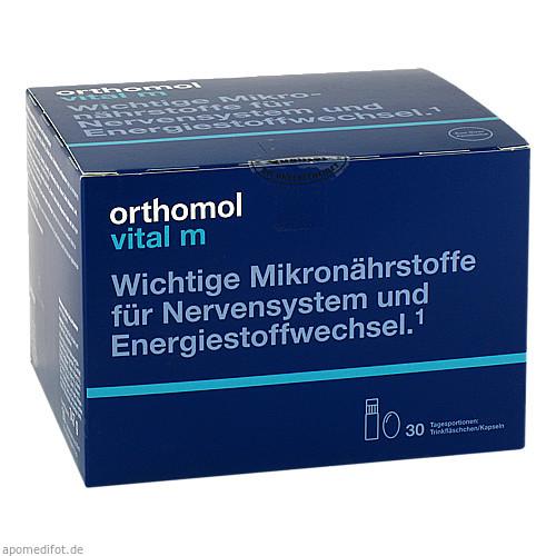 Orthomol Vital M Trinkfläschchen, 30 ST, Orthomol Pharmazeutische Vertriebs GmbH