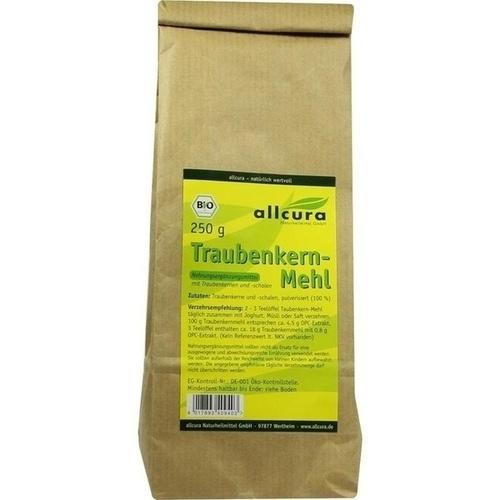 Traubenkern-Mehl, 250 G, Allcura Naturheilmittel GmbH