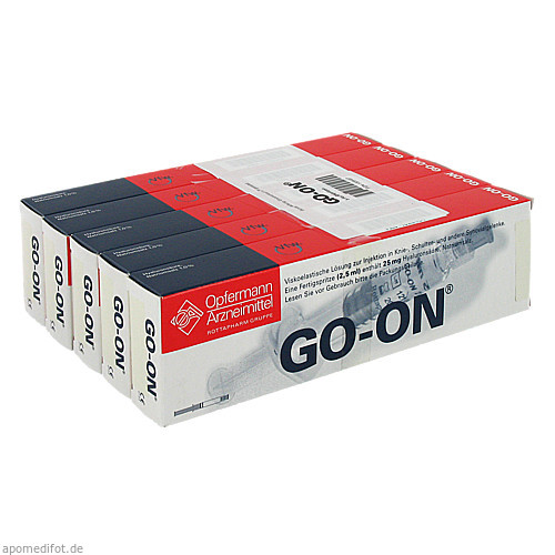 GO ON Fertigspritzen, 5 ST, MEDA Pharma GmbH & Co.KG