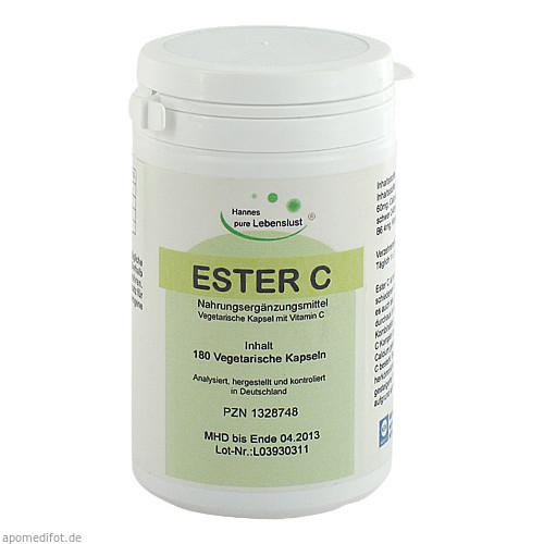 ESTER C Vegi Kapseln, 180 ST, G & M Naturwaren Import GmbH & Co. KG