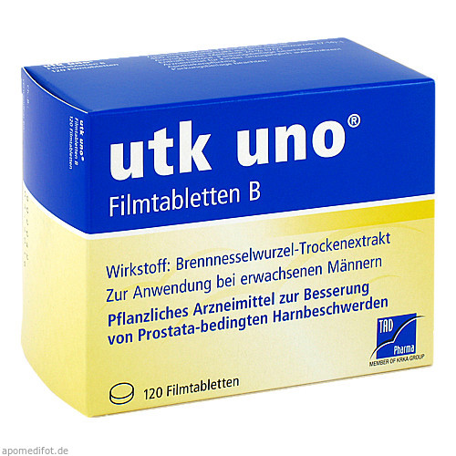 utk uno Filmtabletten B, 120 ST, TAD Pharma GmbH