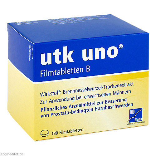 utk uno Filmtabletten B, 180 ST, TAD Pharma GmbH