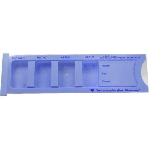 Medikamentendisp. morg.-mitta.-aben.-nach. blau, 1 ST, Vivomed GmbH