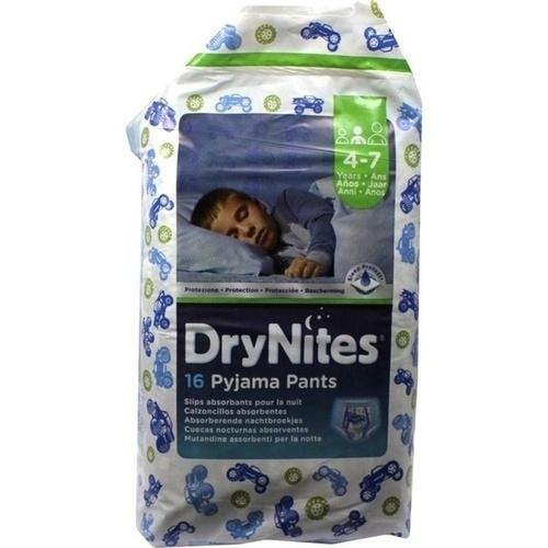 Huggies Dry Nites Jungen 4-7Jahre, 16 ST, Abena GmbH